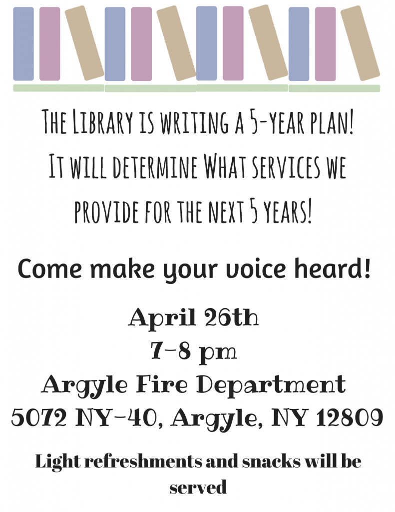 Come make your voice heard!