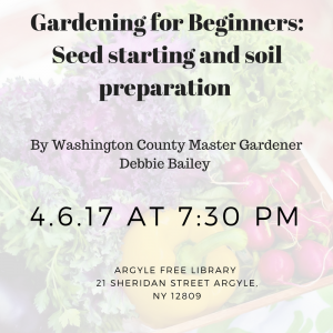 Gardening for Beginners event
