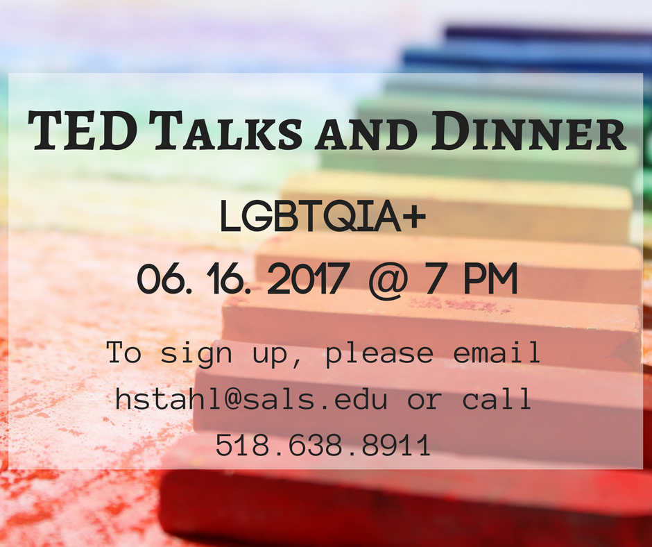 TED Talks and Dinner LGBT